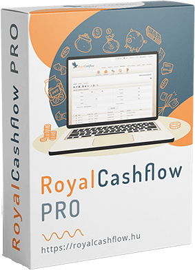 royalcashflow családi költségvetés készítő app