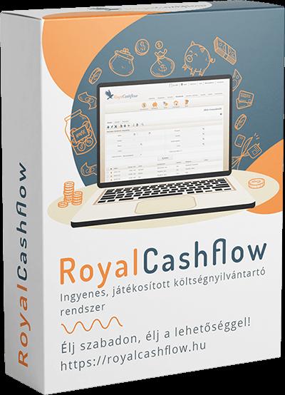 RoyalCashflow költségnyilántartó